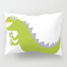 like Godzilla Pillow Sham