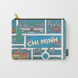 Ho Chi Minh City Carry-All Pouch