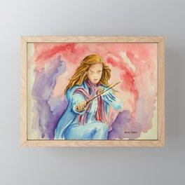 Hermione - A Beautiful Witch. Framed Mini Art Print