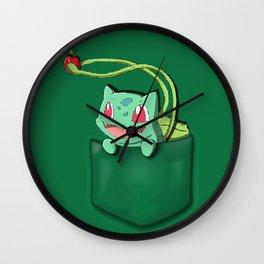 Bulba in the Poket Wall Clock