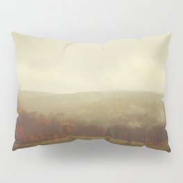 Misty Fall in Vermont Pillow Sham