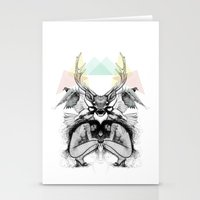 wild things Stationery Cards featuring Wild Things by MadeByLen