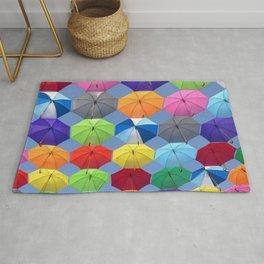 Myriads of Umbrellas Rug