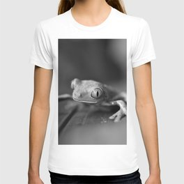 Cute Little Frog (Black and White) T-shirt