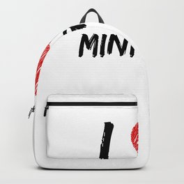 I Love Mini Golf Backpack