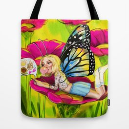 Bug Girls: Social Butterfly Tote Bag