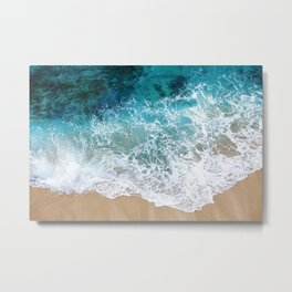 Ocean Waves I Metal Print