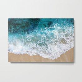 Ocean Waves I Metal Print
