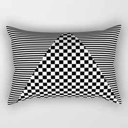 Mixed Patterns Rectangular Pillow