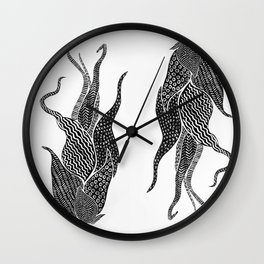 Air Plant Wall Clock