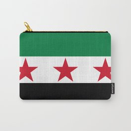 Independence Flag of Syrian, High quality Carry-All Pouch