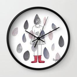 Rainy day! // Longing for fall... Wall Clock