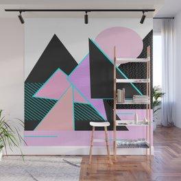 Hello Mountains - Moonlit Adventures Wall Mural