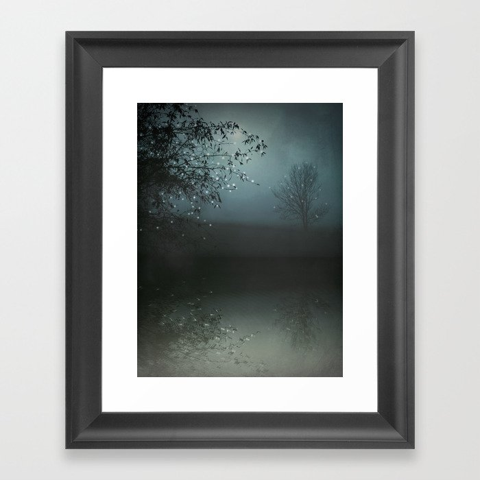 Song of the Nightbird Framed Art Print