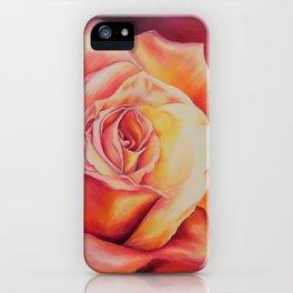 Sunset Rose iPhone Case