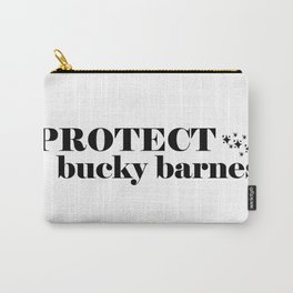 Protect Bucky Barnes Carry-All Pouch