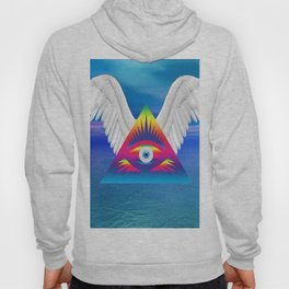 Third Eye with Wings Hoody