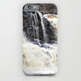 Gooseberry River Falls iPhone Case