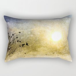 New Day Yesterday Rectangular Pillow