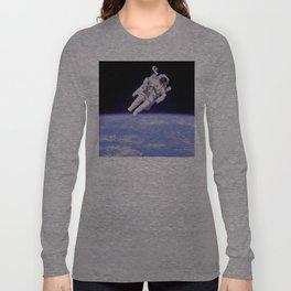 Astronaut on a Spacewalk Long Sleeve T-shirt