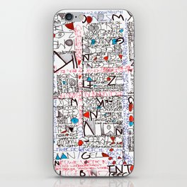 2002 - Thoughts In Rotterdam (High Res) iPhone Skin