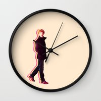 benedict Wall Clocks featuring Benedict by Riley