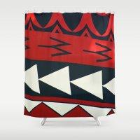 new zealand Shower Curtains featuring NEW ZEALAND by K. Ybarra/FotoHAUS