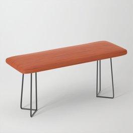Meteor Stripes - Rust Orange Bench