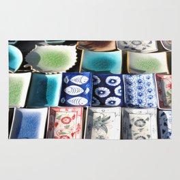 Ceramic Tableware Rug