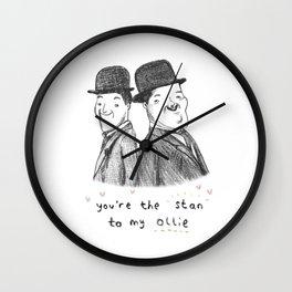 Laurel & Hardy Wall Clock