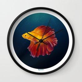 Phoenix Betta Wall Clock