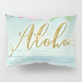Golden Aloha Pillow Sham