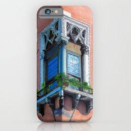A window in Venezia: La finestra 1 iPhone Case