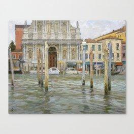 Venice, St. Maria Church Canvas Print