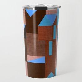 Brown Klee houses Travel Mug