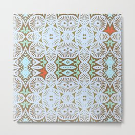 artisanal: tribal two Metal Print