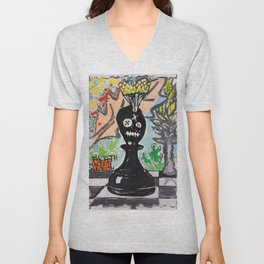 Crowned Unisex V-Neck