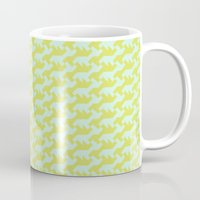 nintendo Mugs featuring Nintendo .lime by guapa.