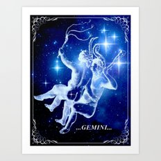 Karin Gemini. Art Print