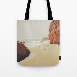 Beach Day - Ocean, Coast - Landscape Nature Photography Tote Bag