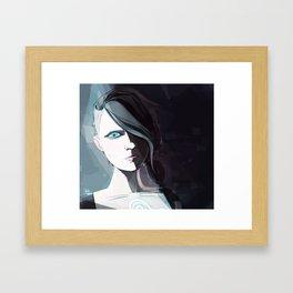 Borderlands - Angel Framed Art Print
