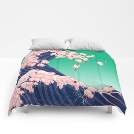 Christmas Baby Pigs The Great Wave Comforters