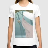 bride T-shirts featuring Bride by 7043