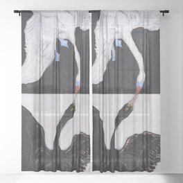 Hilma af Klint - The Swan Sheer Curtain