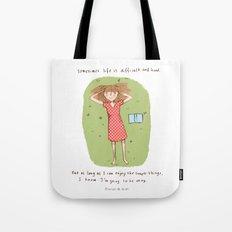 Simple things Tote Bag
