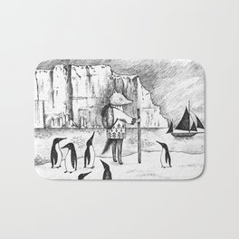 Antarctic explorer Bath Mat