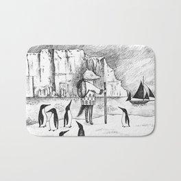 Antarctic explorer Bath Mat