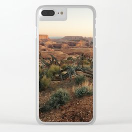 Monument Valley Morning Clear iPhone Case