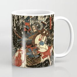 War in 1100's in Japan Coffee Mug