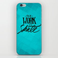 Let's Skate iPhone & iPod Skin